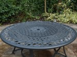 Fire pit table.