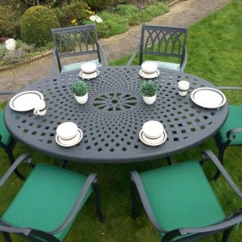 Countess oval patio set