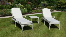 Sunlounger.    Reduced to £395 until current stock runs out.