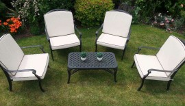 Four Seater Lounge Set .