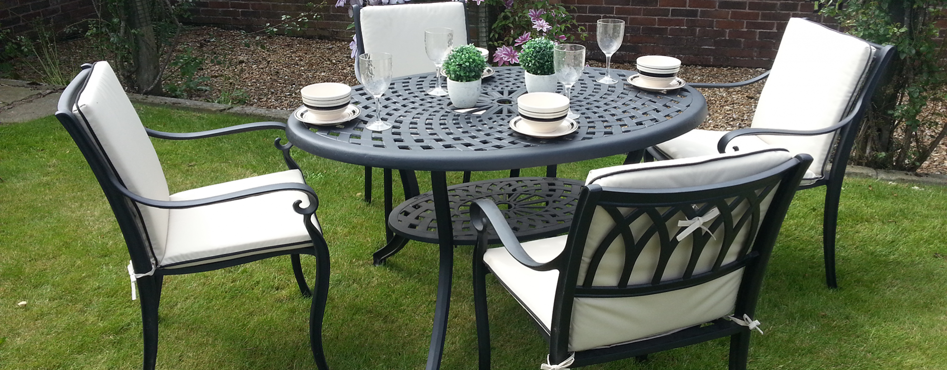 Cast Aluminium Garden Furniture  Free Fast Delivery